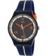 Swatch Men's New Gent SUOZ221 Blue Silicone Swiss Quartz Watch - Main Image Swatch
