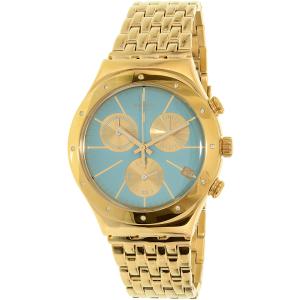 Swatch Women's Irony YCG413G Gold Stainless-Steel Swiss Quartz Watch