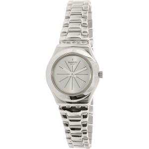 Swatch Women's Lady YSS298G Silver Stainless-Steel Swiss Quartz Watch