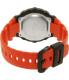 Casio Men's Classic AE2100W-4AV Orange Resin Quartz Watch - Back Image Swatch