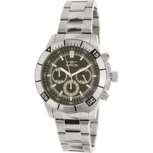 Invicta Men's Specialty 12839 Silver Stainless-Steel Quartz Watch