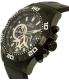Invicta Men's Aviator 21741 Black Rubber Quartz Watch - Side Image Swatch