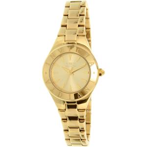 Invicta Women's Wildflower 21743 Gold Stainless-Steel Quartz Watch