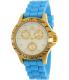 Invicta Women's Speedway 21979 Gold Silicone Quartz Watch - Main Image Swatch