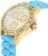 Invicta Women's Speedway 21979 Gold Silicone Quartz Watch - Side Image Swatch