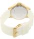 Invicta Women's Speedway 21985 White Silicone Quartz Watch - Back Image Swatch