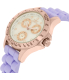 Invicta Women's Speedway 21988 Purple Silicone Quartz Watch - Side Image Swatch
