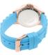 Invicta Women's Speedway 21990 Blue Silicone Quartz Watch - Back Image Swatch