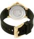 Invicta Men's Ceramics 22211 Gold Silicone Quartz Watch - Back Image Swatch