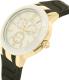 Invicta Men's Ceramics 22211 Gold Silicone Quartz Watch - Side Image Swatch