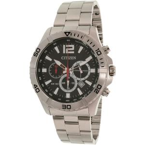 Citizen Men's AN8120-57E Silver Stainless-Steel Quartz Watch