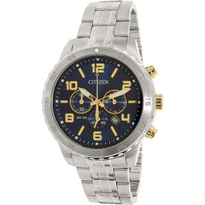 Citizen Men's AN8134-52L Silver Stainless-Steel Quartz Watch