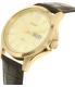 Citizen Men's BF2003-09P Gold Leather Quartz Watch - Side Image Swatch