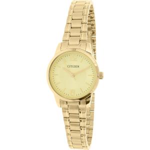 Citizen Women's EJ6083-59P Gold Stainless-Steel Quartz Watch
