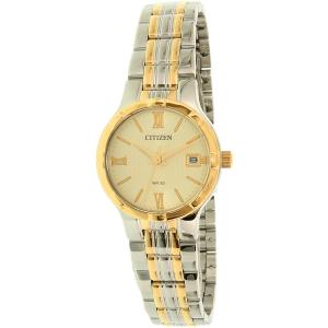 Citizen Women's EU6024-59P Gold Stainless-Steel Quartz Watch