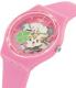 Swatch Girl's Gent GP147 Pink Silicone Swiss Quartz Watch - Side Image Swatch