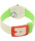 Swatch Women's Lady LM140 Beige Silicone Swiss Quartz Watch - Back Image Swatch