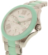 Fossil Women's Cecile AM4636 Blue Stainless-Steel Quartz Watch - Side Image Swatch