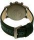 Emporio Armani Men's Dress AR1950 Green Nylon Quartz Watch - Back Image Swatch