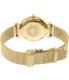 Emporio Armani Women's Gianni AR1957 Gold Stainless-Steel Quartz Watch - Back Image Swatch