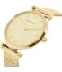Emporio Armani Women's Gianni AR1957 Gold Stainless-Steel Quartz Watch - Side Image Swatch