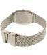 Emporio Armani Women's Retro AR2495 Silver Stainless-Steel Quartz Watch - Back Image Swatch