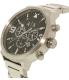 Armani Exchange Men's Atlc AX1369 Silver Stainless-Steel Quartz Watch - Side Image Swatch