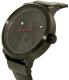 Armani Exchange Men's Atlc AX1372 Black Leather Quartz Watch - Side Image Swatch