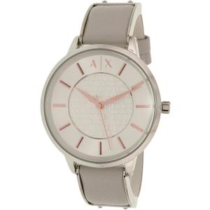 Armani Exchange Women's Olivia AX5311 Grey Leather Quartz Watch