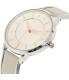 Armani Exchange Women's Olivia AX5311 Grey Leather Quartz Watch - Side Image Swatch