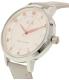 Armani Exchange Women's Payton AX5371 Grey Leather Quartz Watch - Side Image Swatch