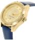 Armani Exchange Women's Dylann AX5435 Blue Leather Quartz Watch - Side Image Swatch