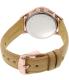 Fossil Women's Abilene CH3016 Brown Leather Quartz Watch - Back Image Swatch
