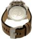 Diesel Men's Ironside DZ4389 Green Leather Quartz Watch - Back Image Swatch