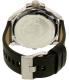 Diesel Men's Uber Chief DZ7376 Black Leather Quartz Watch - Back Image Swatch