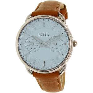 Fossil Women's Tailor ES3976 Brown Leather Quartz Watch