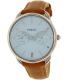 Fossil Women's Tailor ES3976 Brown Leather Quartz Watch - Main Image Swatch