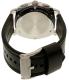 Fossil Men's Machine FS5160 Black Leather Quartz Watch - Back Image Swatch