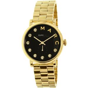 Marc by Marc Jacobs Men's Baker MBM3421 Gold Stainless-Steel Quartz Watch