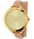 Michael Kors Women's Slim Runway MK2476 Pink Leather Quartz Watch - Main Image Swatch
