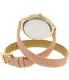 Michael Kors Women's Slim Runway MK2476 Pink Leather Quartz Watch - Back Image Swatch