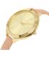 Michael Kors Women's Slim Runway MK2476 Pink Leather Quartz Watch - Side Image Swatch
