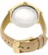 Michael Kors Women's Hartman MK2480 Gold Leather Quartz Watch - Back Image Swatch