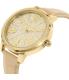Michael Kors Women's Hartman MK2480 Gold Leather Quartz Watch - Side Image Swatch
