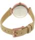 Dkny Women's Stanhope NY2457 Beige Leather Quartz Watch - Back Image Swatch