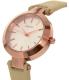 Dkny Women's Stanhope NY2457 Beige Leather Quartz Watch - Side Image Swatch