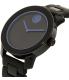 Movado Men's Bold 3600314 Navy Silicone Swiss Quartz Watch - Side Image Swatch