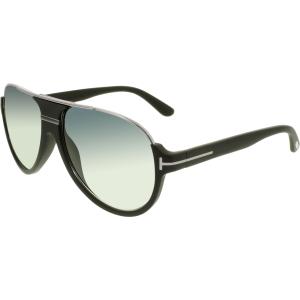 Tom Ford Men's Dimitry FT0334-02W-59 Black Oval Sunglasses