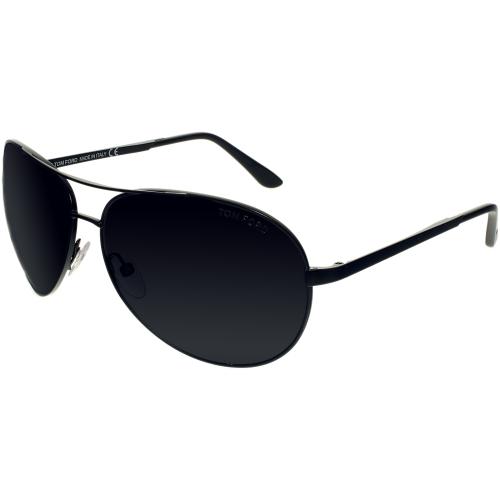 f01d56336bf4 UPC 664689549870 product image for Tom Ford Men s Polarized Charles FT0035- 02D-62 Black ...