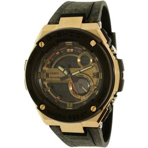Casio Men's G-Shock GST200CP-9A Black Resin Quartz Watch